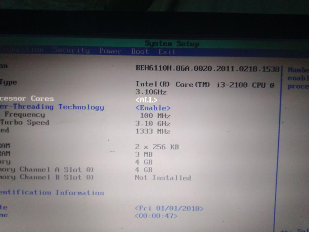 Current BIOS Version